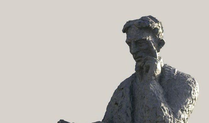 Никола Тесла (приказ попрсја истоименог споменика у целости вајара Драгана Раденовића)