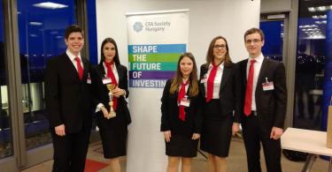Победнички тим (Фото Економски факултет)
