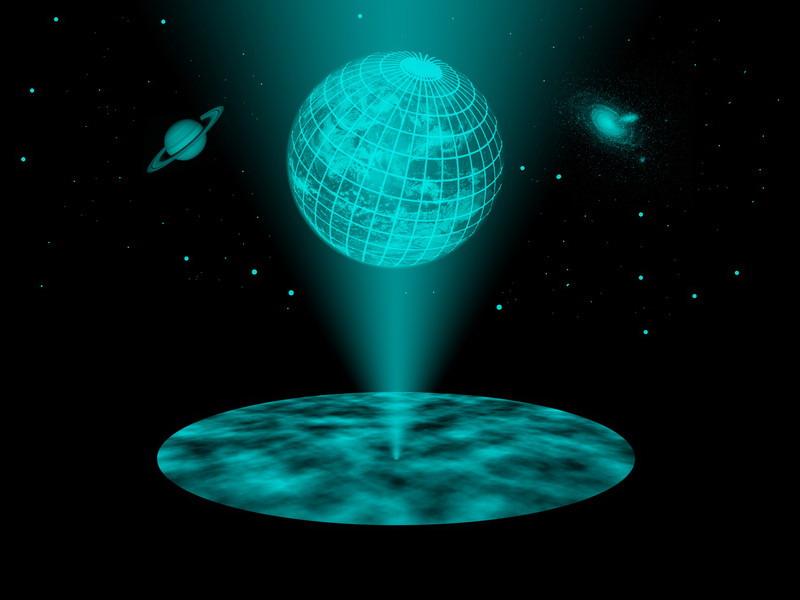 Холографски космос (Википедија)