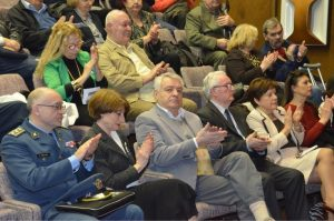Гости и слушаоци на скупу у ВМА
