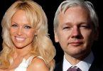 Pamela Anderson i Džulijan Asanž (Vikipedija)