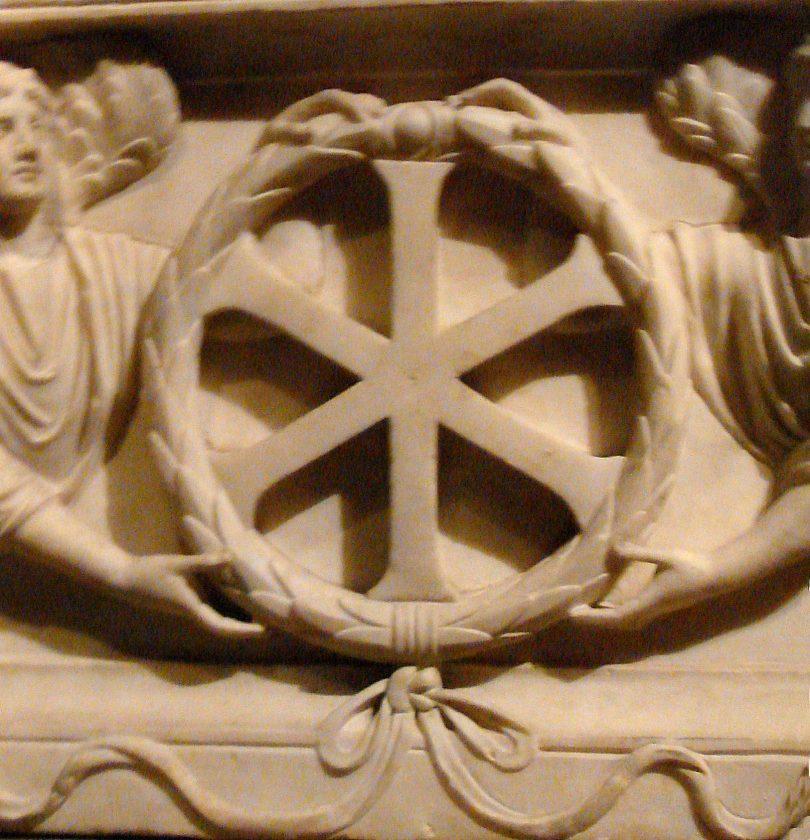Христов монограм из Константинопоља (Википедија)