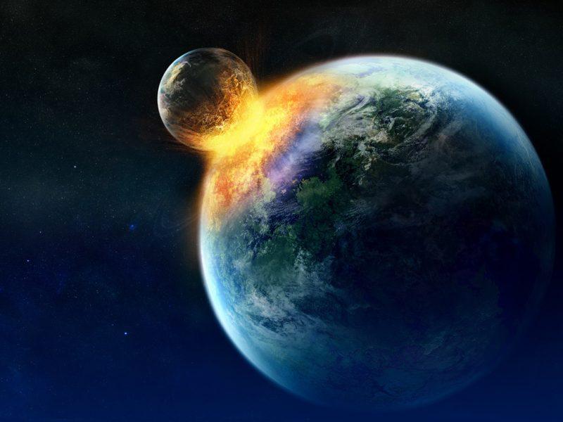 Настанак Месеца (НАСА)