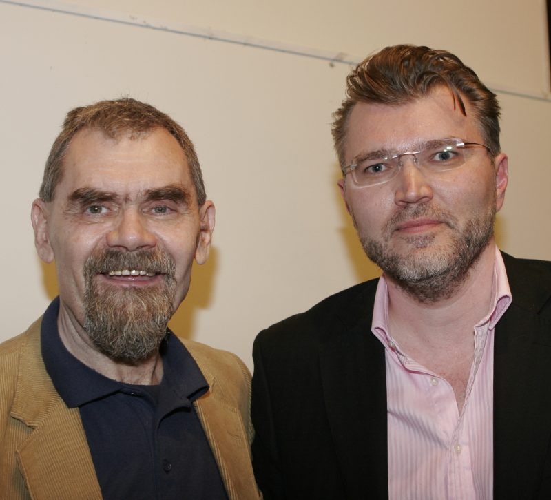 Квантни сусрет: Станко Стојиљковић (лево и Влатко Ведрал)