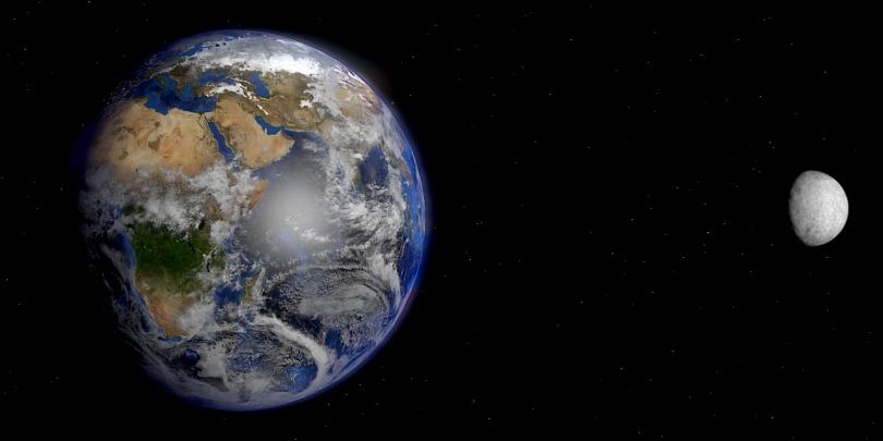 Земља и Месец (НАСА)