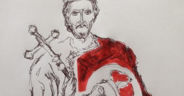 Jovan Vladimir (crtež Dragana Radenovića)