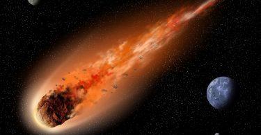 Asteroid ubica (NASA)
