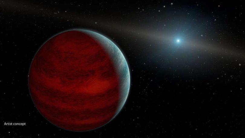 Планета и звезда (ESO)