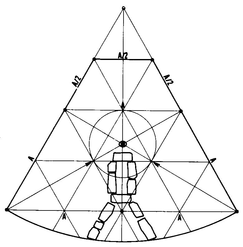Скица Лепенског вира (Предраг Ристић)