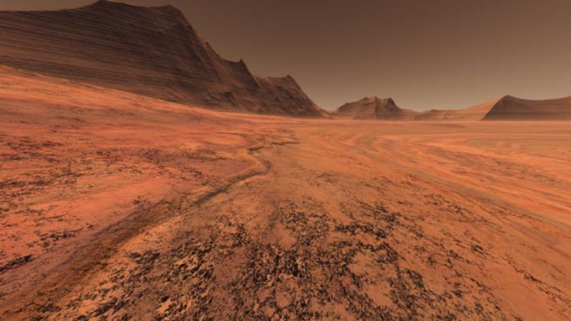 Исушена површина (НАСА)