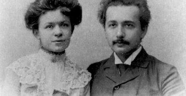 Mileva i Albert na venčanju (Vikipedija)