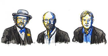 Тројица добитника (Nobelprize.org)