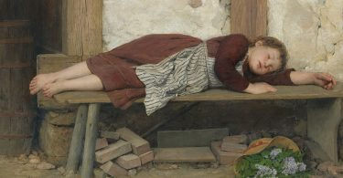 Успавана девојчица (Алберт Анкер)