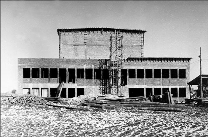 Izgradnja Vinče (Foto Institut Vinča)