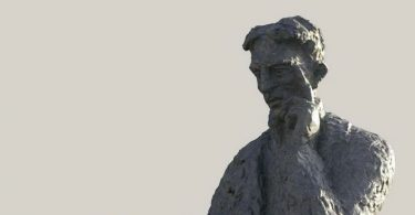 Nikola Tesla (prikaz poprsja istoimenog spomenika u celosti vajara Dragana Radenovića)
