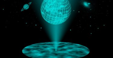 Holografski kosmos (Vikipedija)