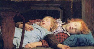 San dve devojcice (Albert Anker, izvor Vikipadija)