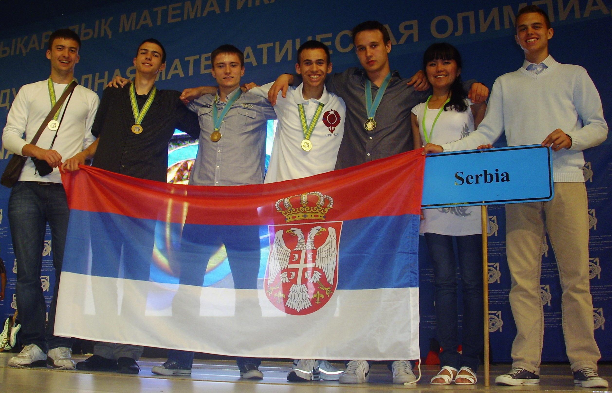srpski tim 2010. na olimpijadi