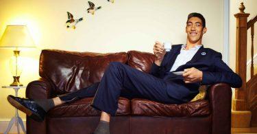 Највиши човек данас: Султан Косен (Гинис)