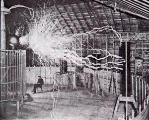 Nikola Tesla čita (Vikipedija)