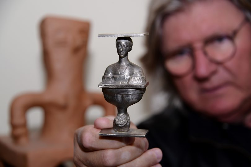 Најмањи Тесла (скулптура Драгана Раденовића)