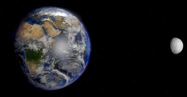 Zemlja i Mesec (NASA)