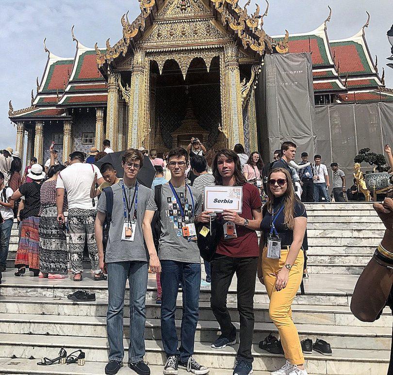 Uspeh u Tajlandu (Matematička gimnazija)