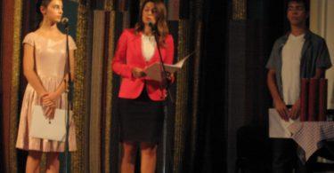 Tatjana Matić govori na svečanosti (MG)