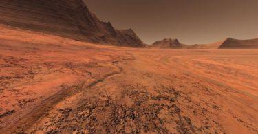 Isušena površina (NASA)