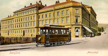 Palata Marindvor iz 1901. (Vikipedija)