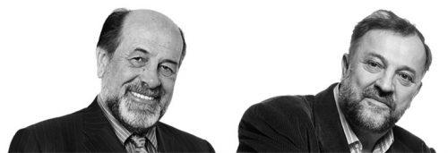 Ђуро Коруга и Јадран Бандић(Википедија)