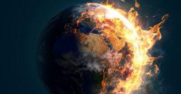 Planeta zemlja gori