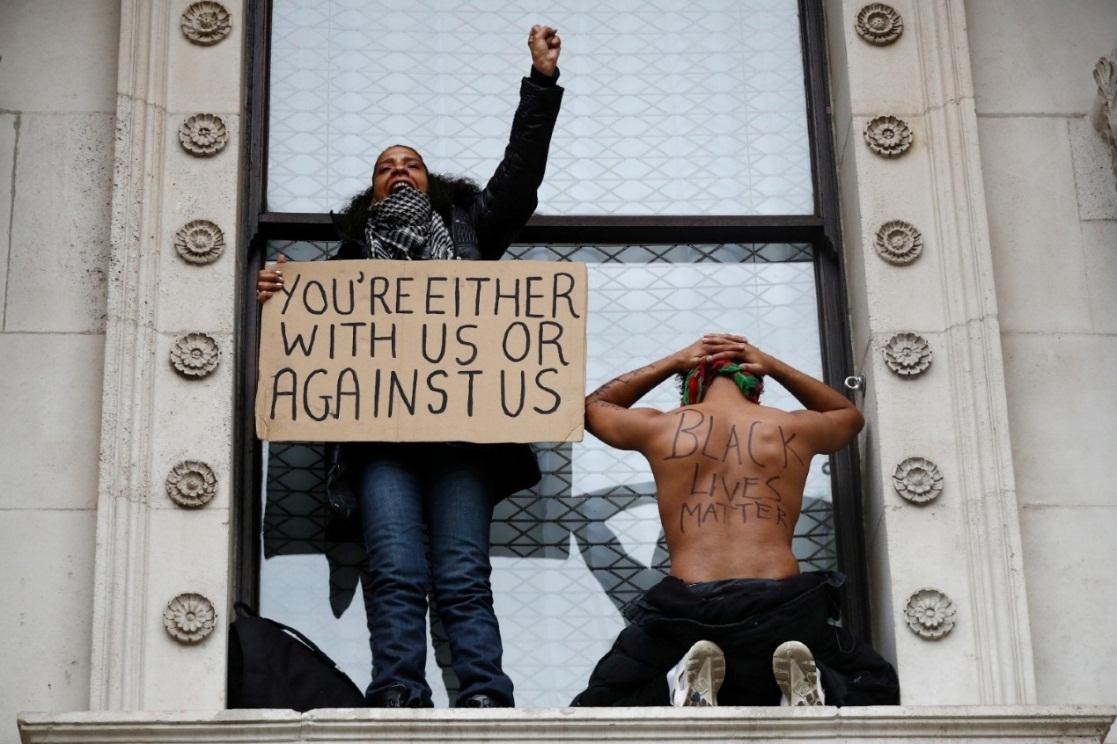"""Demonstranti tokom protesta pokreta """"Crni životi su važni"""""""