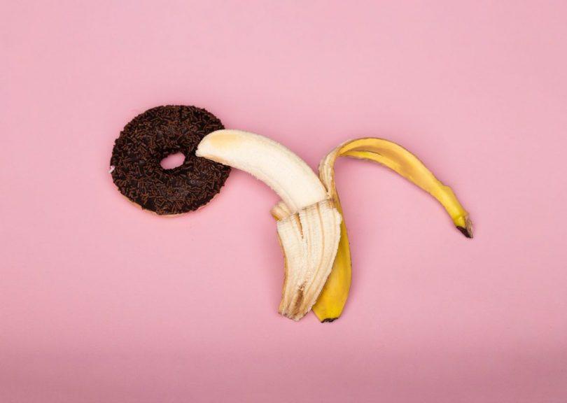 Banana i americka krofna